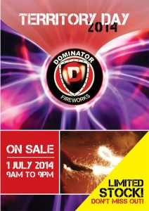 Buy Dominator Fireworks in Australia