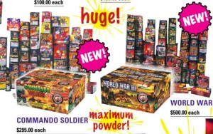 Dominator Fireworks Assortments