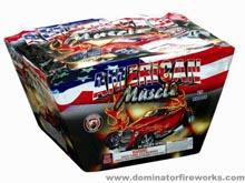 dm546-americanmusclecar-500g Fan Cake fireworks