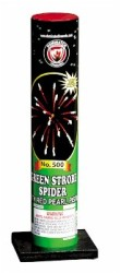 DM1004T Green Strobe Spider with Red Pearl Pistol