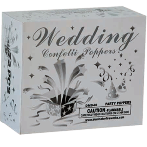 DM940 Wedding Confetti Poppers
