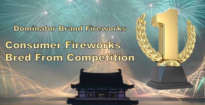 Buy Dominator Fireworks - China's Highest Quality Brand